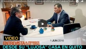 Entrevista Presidente Correa 2